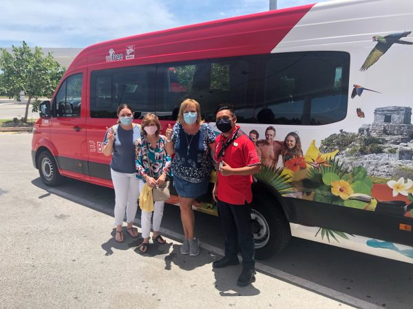 Cancun Resorts Shuttle Transportation Safety - Sunset-Travel.com