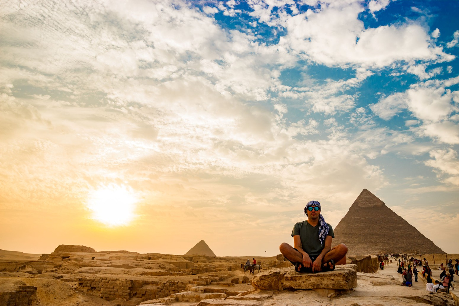 Travel to the Great Pyramids with Expert Advice from Sunset Travel and Cruise in Chicago, IL 60614