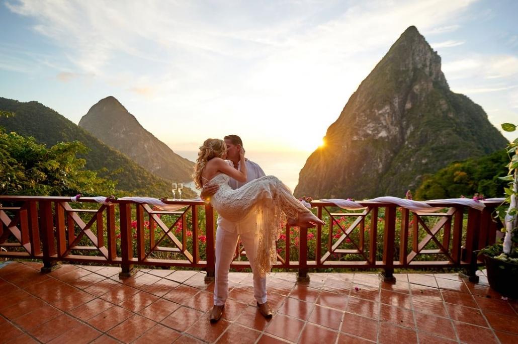 Ladera Resort Destination Weddings St Lucia - Sunset Travel Agency, Chicago