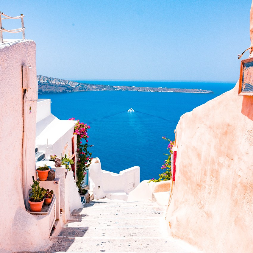 Greek Island Cruise Packages and Specials from Sunset Travel & Cruise Agency in Chicago IL - Sunset-Travel.com