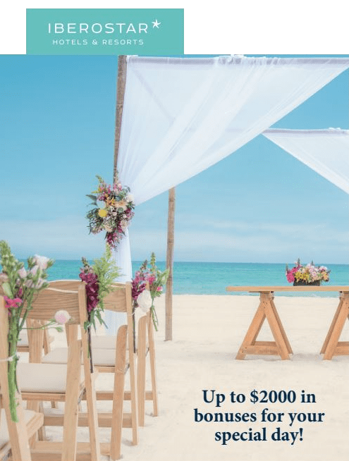 Destination Wedding Deals from Iberostar Resorts - Sunset-Travel.com