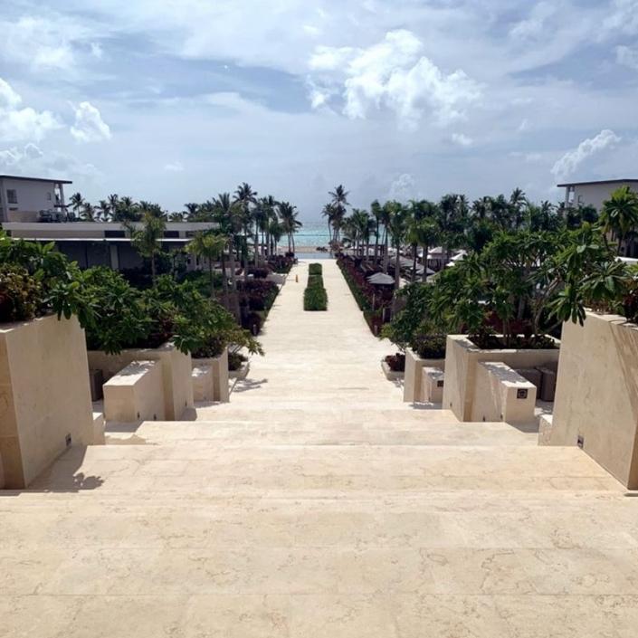 Zilara Beach Walkway - Sunset-Travel.com